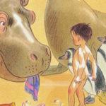 Un hipopòtam a la banyera! i el plaer de banyar-se amb aigua calenta